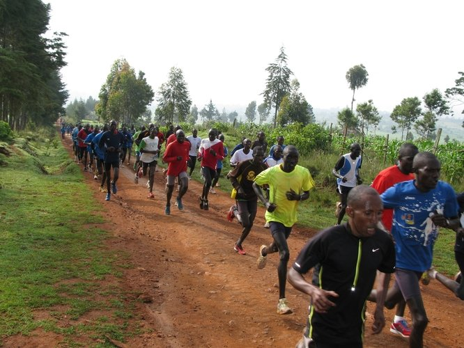 Train Talented, Underprivileged Runners in Kenya