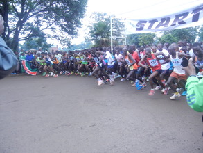 taking off at TBK marathon