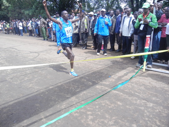 winner at TBK marathon