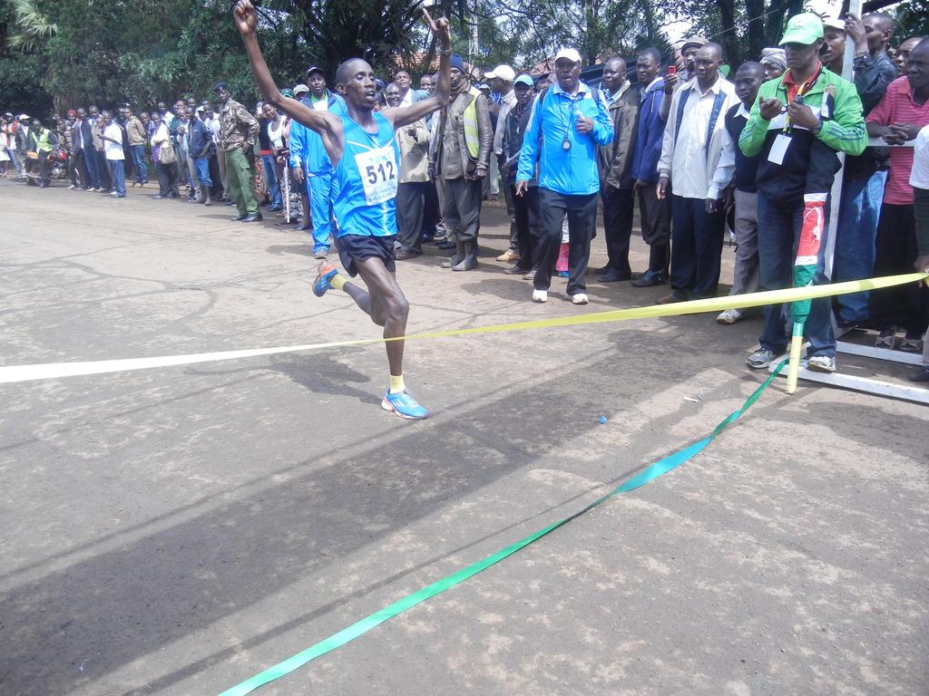 winner at TBK marathon