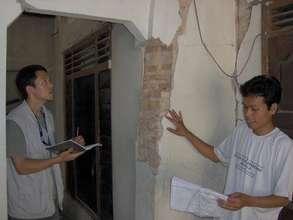 RI assessment teams survey damages and village nee