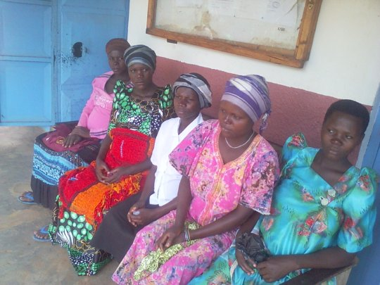 PREGNANTMOTHERS AT OUR HEALTH CENTRE-ANTENATAL DAY