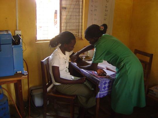 Prevent HIV infections  to children in Uganda