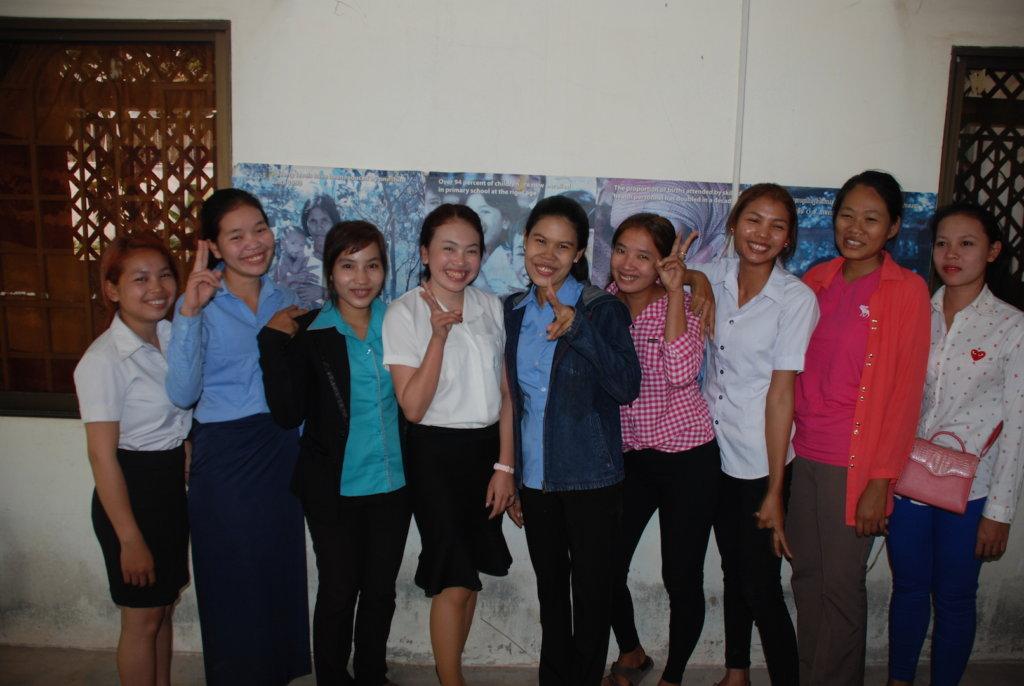 GATEway students in Siem Reap