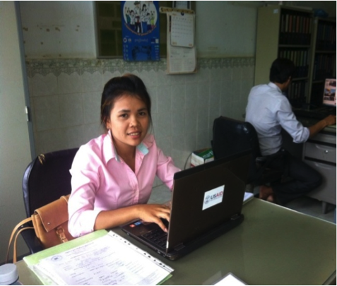 Yan hard at work!