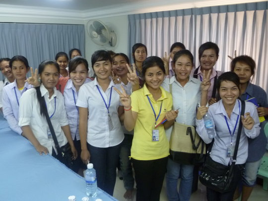 Higher Education for Impoverished Cambodian Girls