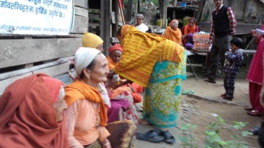 Food material distribution  program
