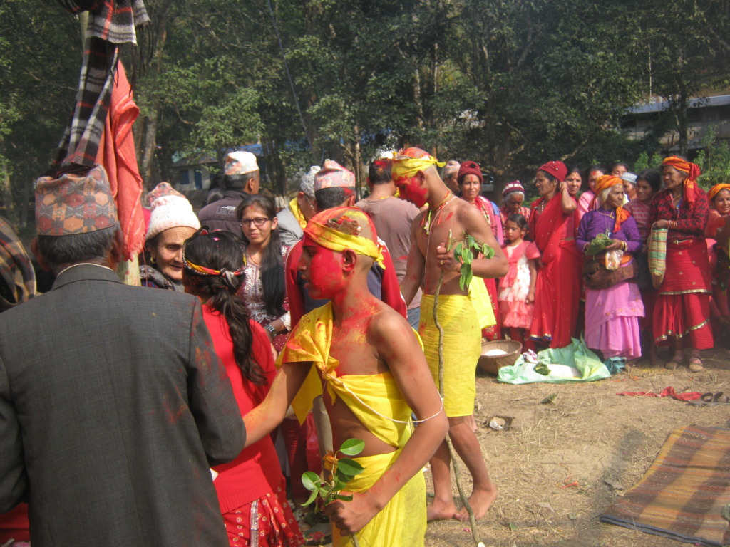 A group barraband( A religious program) organised