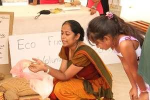 Kanchana at good market