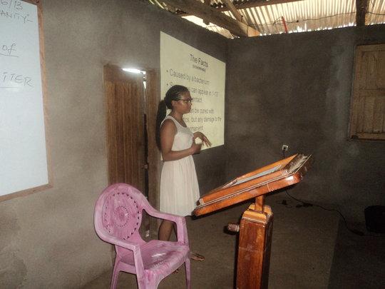 Sarah Bhuiya on Presentation 2