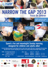Narrow the Gap Event Poster