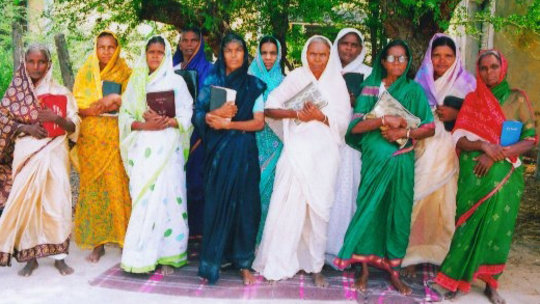 50 Dalit Women Basic Education in India