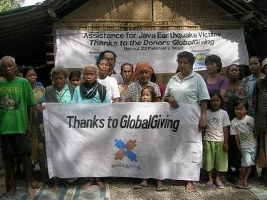 Assistance for Java Earthquake Victims