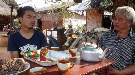 Tea and catch up meeting at Koung Jor