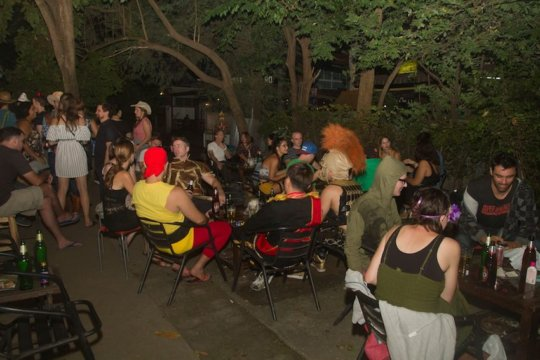 Some of the guests at our Halloween Fundraiser