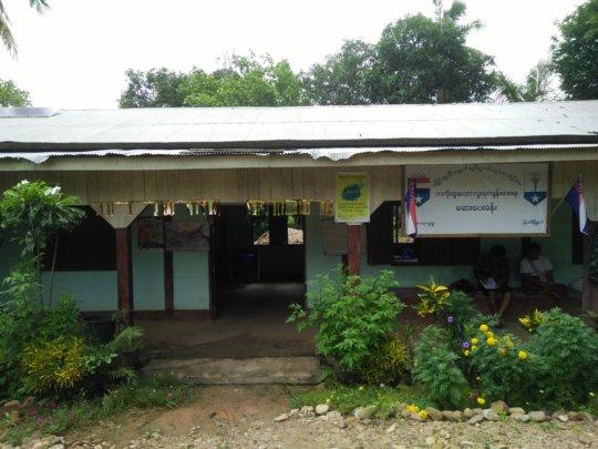 A clinic in Karen State awaits solar lighting