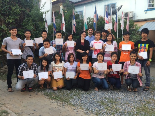 Graduation at soft-skills development workshop
