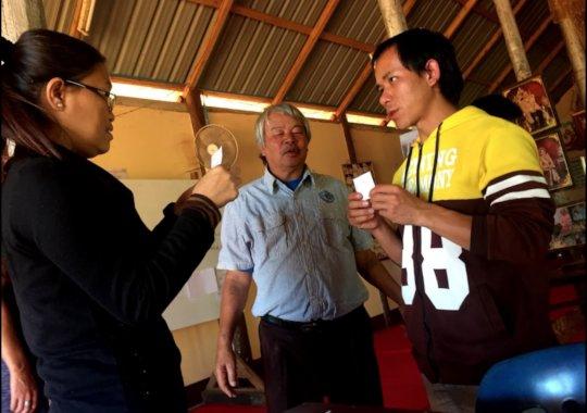 Local teachers at Koung Jor
