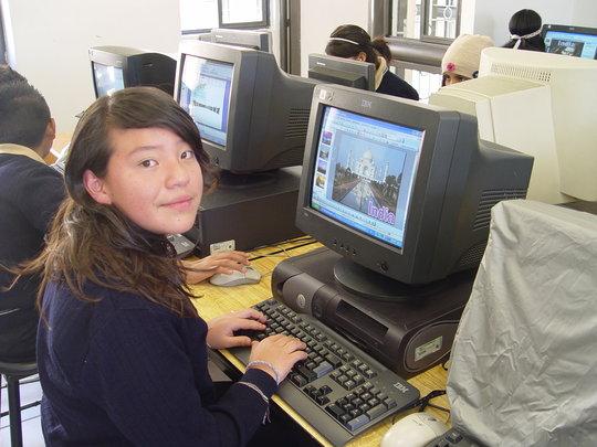 Akari, 9th grader at Christel House Mexico