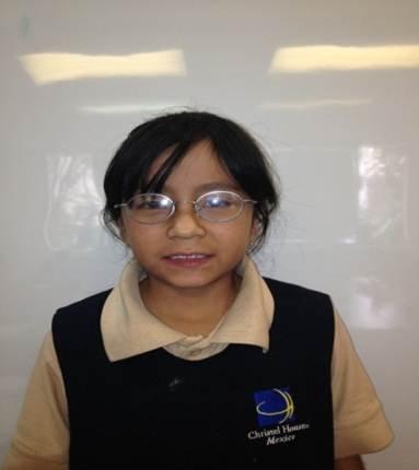"Maria ""Fernanda"" - 4th Grader at Christel House"