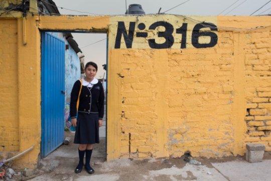 The yellow brick wall by Esmeralda