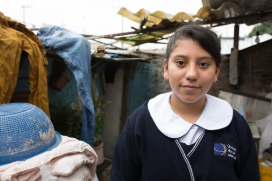 Esmeralda, Christel House Mexico 9th grade student