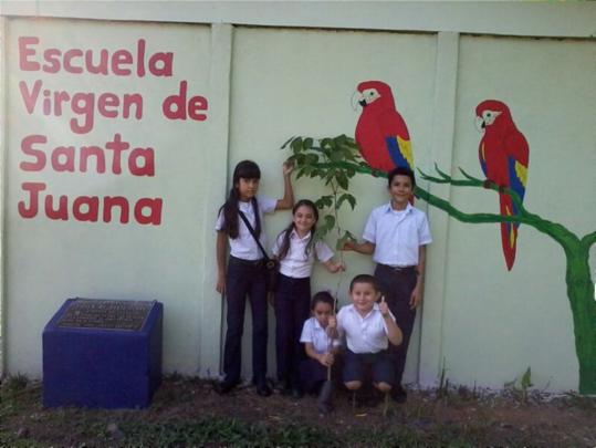 Santa Juanas School Mural