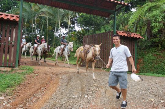 Santa Juana Horseback Riding
