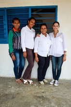 The lovely ladies of Hernan Echavarria Foundation!