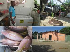 Seafood sales business supported