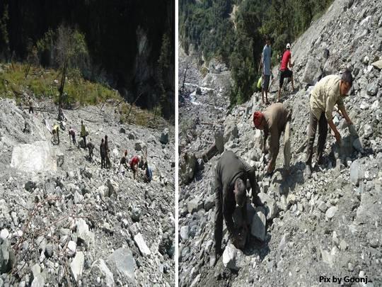 Repair of 5 km stretch from Sangamchetti to Agoda
