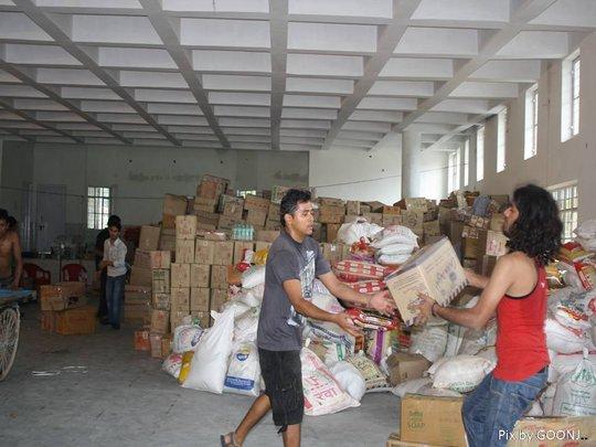 Volunteers at Work!