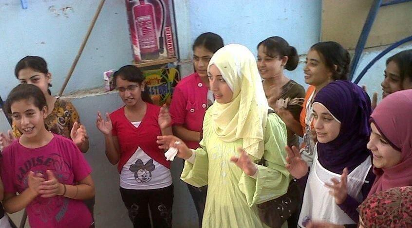 Christian and Muslim Girls in Sohag