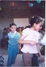 Little girls having fun