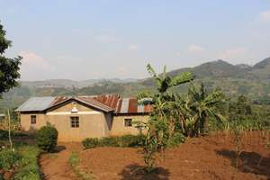 Phinoah's home in Kisoro.