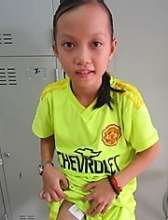 10 year old Tran just had surgery last week!