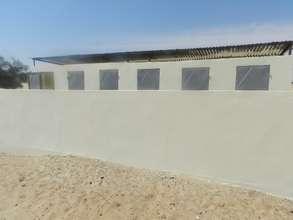 renovated latrines