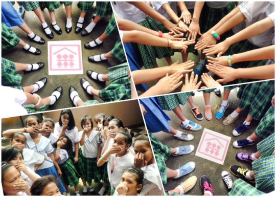 The girls of TSL gear up for learning in 'school'