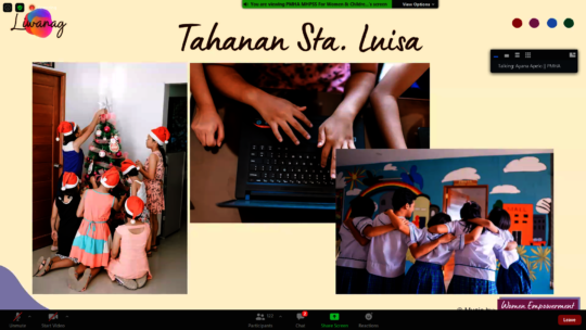 Tahanan's Psychosocial Programs For Street Girls