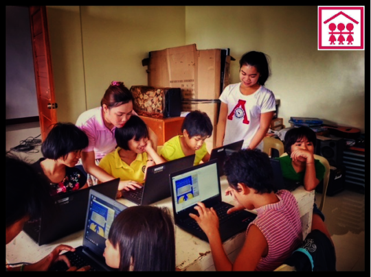 Volunteers empower girls by sharing life skills