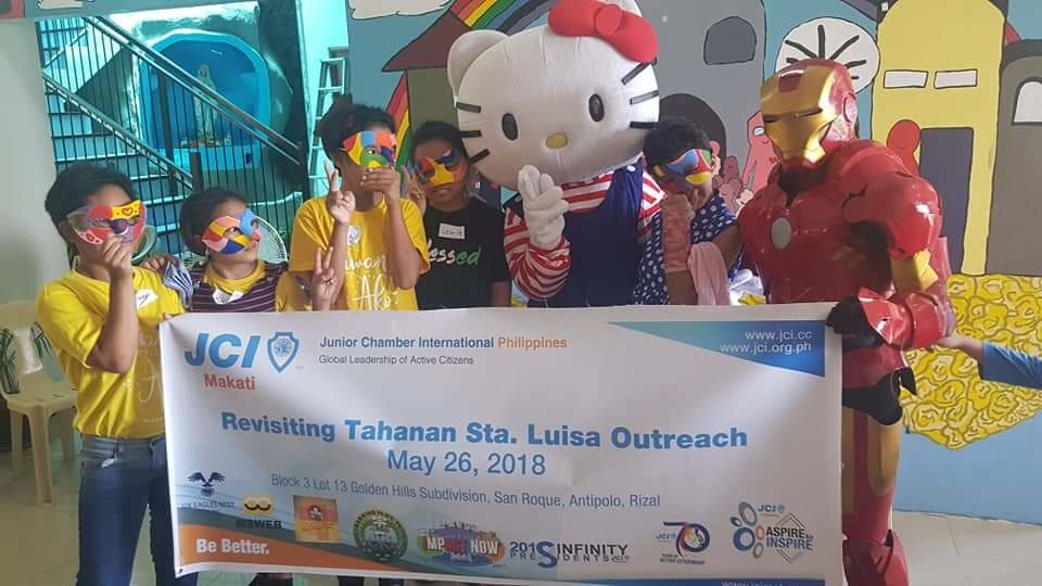 Outreach activity for the girls of Tahanan