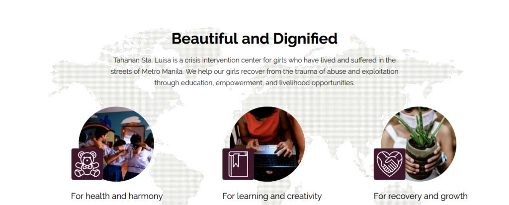 New website to showcase girls