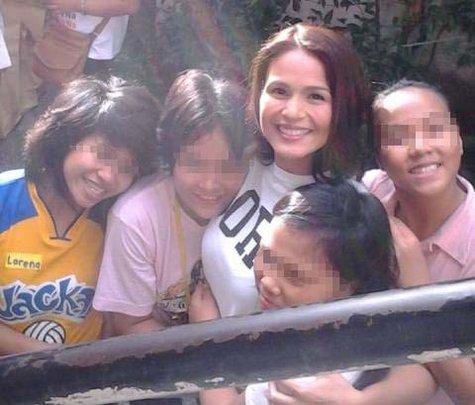 Ms. Iza Calzado, actress and endorser, visits TSL