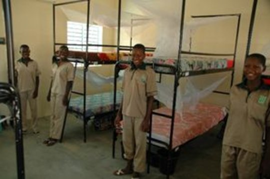 Girls in their dormitory (16 per room)