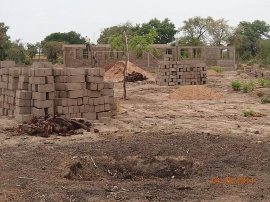 First dormitory built for the boys