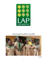 Annual report of the LAP 2019-2020 (PDF)