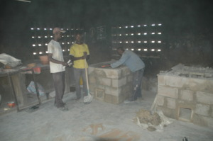 New ovens with the masons