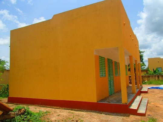 New dormitory for the girls