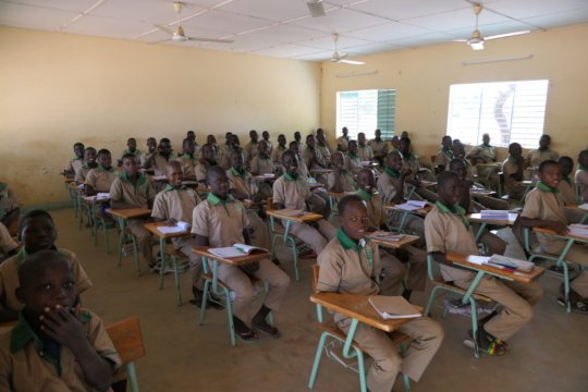 Second year class