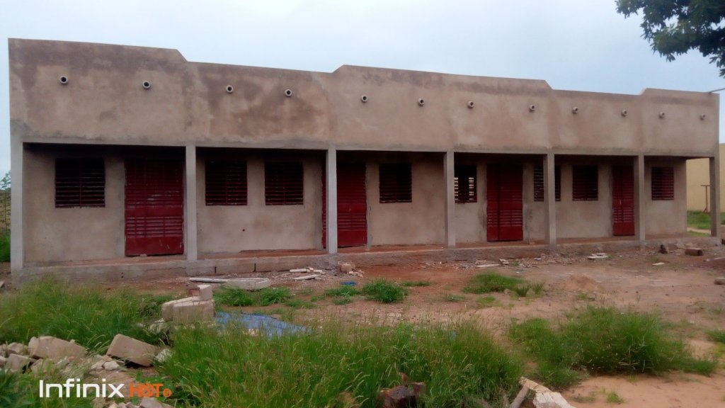 dormitory under construction
